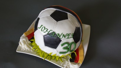 Fussball-Deutschland Torte