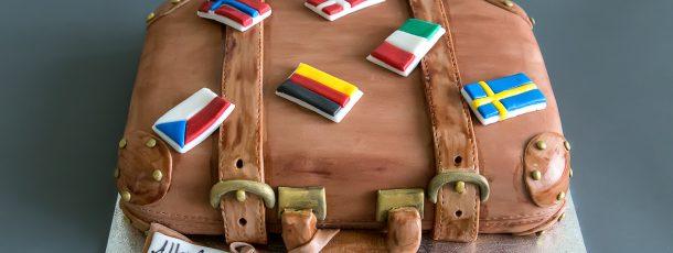 Reisekoffer Torte