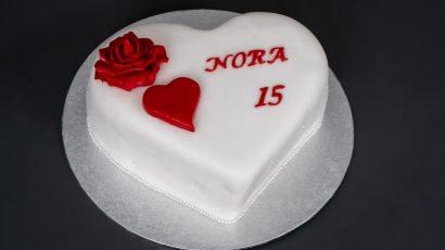 Herz Torte