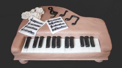 Klaviertorte