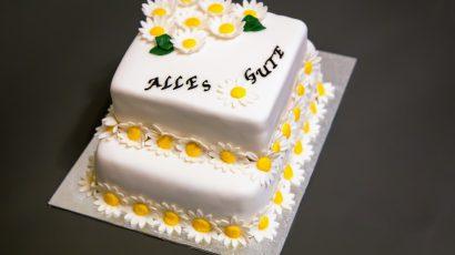 Margeriten Torte