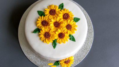 Sonnenblumen Torte
