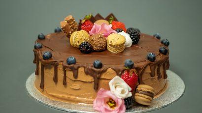 Schoggi Drip Cake