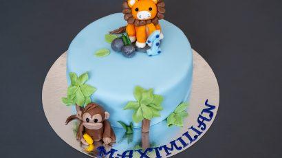 Löwe Torte