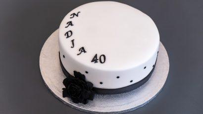 Black & White Torte